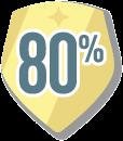 80 percent netgalley